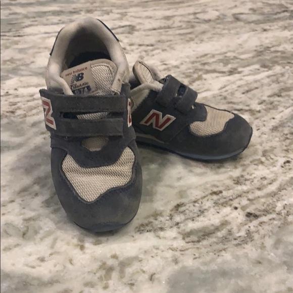 Desventaja tragedia alquitrán  New Balance Shoes | 574 Toddler Velcro | Poshmark
